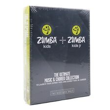 Zumba Kids + Jr Ultimate Music & Choreo Collection Workout Instructors DVD New