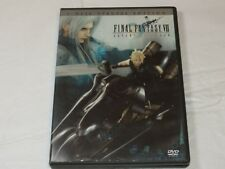 Final Fantasy VII Advent Children DVD 2 Disc Special Edition Rated-PG13 Widescre