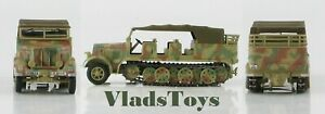 Hobby Master 1:72 German Sd. Kfz. 7 Half-Track 8-Ton Personnel Carrier HG5005
