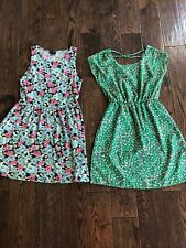 lot of 2 dresses Rue 21 floral M/ Body Central S sleeveless