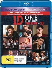 One Direction: This Is Us (3D Blu-ray/UV) (Theatrical . - BLU-RAY - NEW Region B