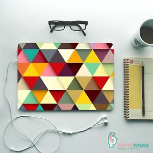 Triangle Geometric Skin Notebook Vinyl Decal Asus Dell Lenovo Any Laptop Sticker