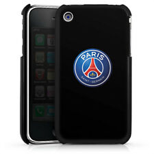 Apple iPhone 3Gs Premium Case Cover - PSG 3D Logo - Schwarz