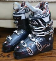 NORDICA HOT ROD 85 SKI BOOTS SIZE 25.5 MEN SIZE 7