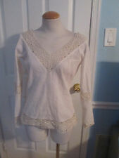 boston proper ivory summer top new               #337