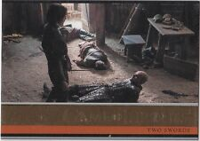 GAME OF THRONES SEASON 4 GOLD PARALLEL INSERT #3 TWO SWORDS 068/150