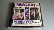 CD PATRICK FIORI : L'INSTINCT MASCULIN LIVE (2 CD)