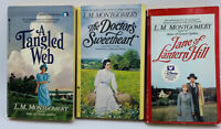 L. M. MONTGOMERY Jane of Lantern Hill, A Tangled Web, The Dr's Sweetheart 3-lot