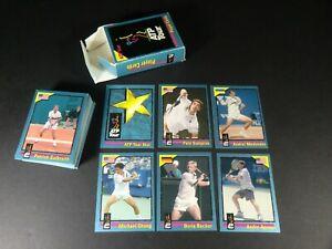 1995 ATP Tour - player cards - 68 Card Set - Agassi Becker Sampras Chang