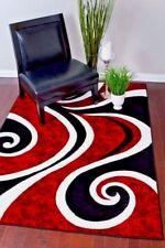 Rugs Area Rugs Carpets 8x10 Rug Floor Red Modern Large Cool Living Room 5x7 Rugs