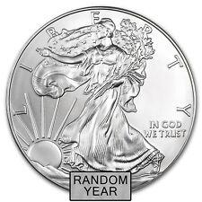 1 oz Silver American Eagle BU (Random Year) - SKU #23331