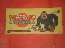 ALBI TASCABILI TOPOLINO-STRISCIA N° 15-d-prima 1° SERIE originale 1948 gorilla