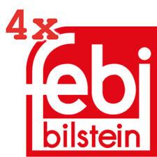 4x FEBI BILSTEIN SCHRAUBE BREMSSATTEL AUDI SEAT SKODA VW