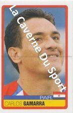 N°231 CARLOS GAMARRA # PARAGUAY STICKER PANINI COPA AMERICA VENEZUELA 2007