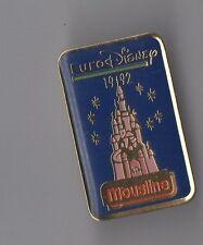 Pin's mousline / eurodisney 1992 / Disney