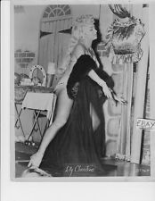 Lilly Christine leggy VINTAGE Photo