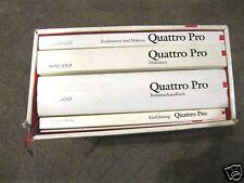 """Original Software Borland Quattro Pro Beta Version deutsch 9 Disketten 5,25"""" Buc"""