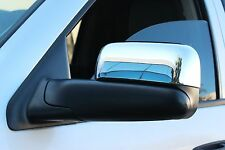 2002-2009 Dodge Ram 2500/3500 Chrome Side Mirror Covers (With Towing Mirrors)