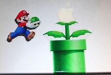 Super Mario Bros Nintendo Wii 64 Apple Mac book DIY Removable Stickers Decal