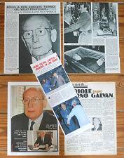 ENRIQUE TIERNO GALVAN coleccion prensa 1970s/80s Politica Alcalde Madrid Movida