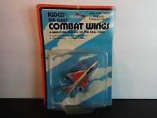Kidco Combat Wings Silver Russian Mig 21 Fighter Jet Airplane w/ pkg