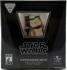 Star Wars Commander Neyo Statue Bust Gentle Giant Mint 587/1500