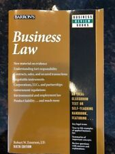 Like NEW Business Law (Barron's Business Review) by Robert W. Emerson J.D.