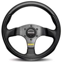 MOMO Steering Wheel Team Black Leather Airleather 300mm Genuine TEA30BK0B
