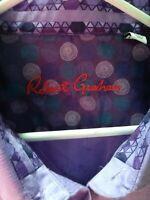 Robert Graham NWT Purple Dress Shirt Size 3XL (Retails $178) Free Shipping