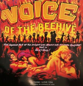 """Voice Of The Beehive-I Think I Love You Vinyl 12"""" Single.1991 London LONX 308."""