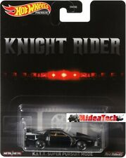 2020 Hot Wheels Retro Knight Rider K.I.T.T. Super Pursuit Mode 1/64 DMC55-956Q