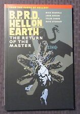 2013 BDRP Hell On Earth Return of The Master Mignola SC SIGNED NM 9.4 Dark Horse