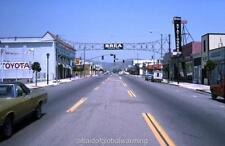 Photo. 1974-5. Brea, California. Downstown - Street
