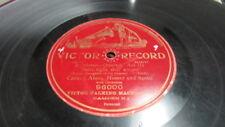 ENRICO CARUSO VICTOR GRAND PRIZE 78 RPM RECORD 96000 RIGOLETTO - QUARTETTE