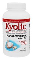 Kyolic Formula 109 Aged Garlic Extract Blood Pressure Support 160 Capsules