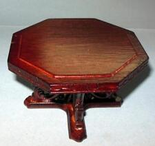 VINTAGE DRAGON TABLE MAHOGANY CONCORD MUSEUM#3810 DOLLHOUSE FURNITURE MINIATURES