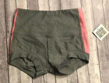 Ktrna Dance Sideline Booty Short Adult Small Pink & Gray NWT!