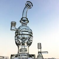 Showerhead Percolator Water Pipe Bong Galss Swiss Perc Recycler Water Bongs