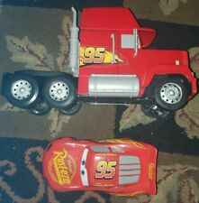 Disney Pixar Cars Transforming Super Track Mack Playset Truck Cab Tractor Only +