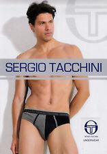 6 Slip uomo, Cotone, Elastico esterno. SERGIO TACCHINI Underwear - 15214-AS.