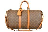 Louis Vuitton Monogram Keepall 45 Bandouliere Travel Bag Strap M41418 - YG00752