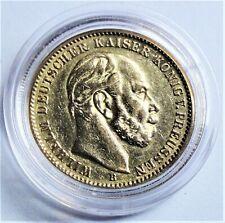 Deutsches Reich 20 Mark 1874 B Gold Kaiser Wilhelm I - vz/ xf mit Kapsel
