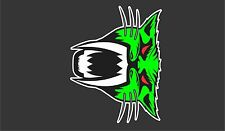 ARCTIC CAT TUNNEL top Z1 F 570 F8 F5  PRO LXR BEARCAT TURBO DECAL STICKER green