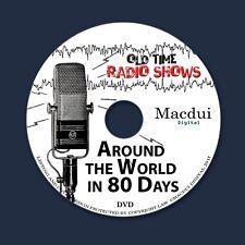 Around the World in 80 Days Old Time Radio Shows Drama 2 OTR MP3 on 1 Data DVD