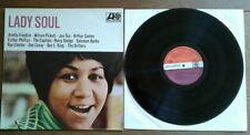 Lp Lady Soul.Met diverse artiesten. Atlantic DS 019. Rare Dutch Boek en Plaat.