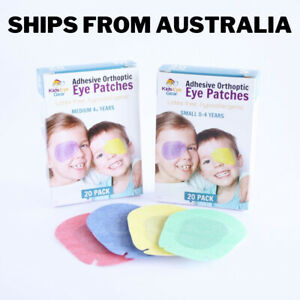 Kids Eye Gear Adhesive Eye Patches for Kids Lazy Eye SMALL MIXED Box 20