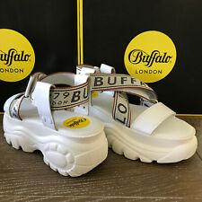 Buffalo London classics WEISS white SANDALS sandalen - NEU - grössen 39 bis 41