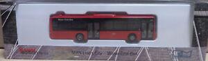 Rietze Bus MAN Lions City Ü DB BAHN WESER EMS BUS (21/20)