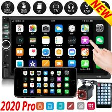 7'' 2 Din Autoradio Bluetooth Touch screen MP5 FM USB/TF/AUX IN con telecamera