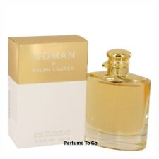 WOMAN by RALPH LAUREN * 3.3/3.4 oz (100 ml) EDP Spray * NEW & SEALED